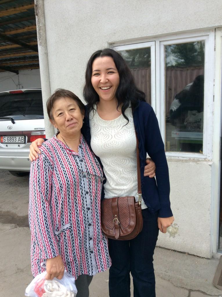 Roza and Zhazgul