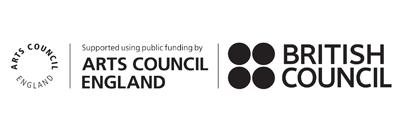 Arts Council England and British Council logos