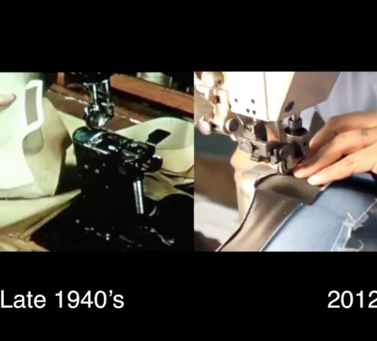 evolution of footwear construction